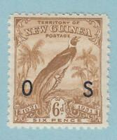 NEW GUINEA O18 OFFICIAL MINT NEVER HINGED OG ** NO FAULTS EXTRA FINE !