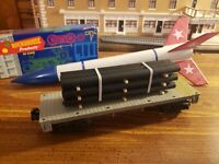 O or S  Scale-Gauge  handmade pipe load for flat cars-gondolas