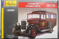 1928 Citroen C 4 Splendid 1:24 Heller 80713 wieder neu 2020