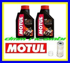 Kit Tagliando MOTO GUZZI V7 750 CafèClassic 09 Filtro Olio MOTUL 7100 10W60 2009