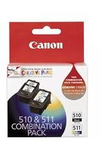Genuine Canon PG-510+CL-511 Ink Cartridges For MP240,MP250,MP270,MP495,MX350
