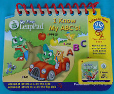 LeapFrog My First LeapPad I KNOW MY ABC'S Book Cartridge, learn alphabet letters