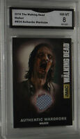 2016 CryptozoicTHE WALKING DEAD WALKER #M34 AUTHENTIC WARDROBE CARD NM-MT8 GMA