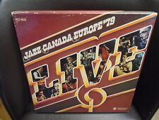 Jazz Canada Europe 79 Live 4 LP box EX [Ed Bickert Salome Bey Fraser MacPherson]