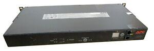 APC AP7721 Automatic Transfer Switch, w/ Rackmount Ears