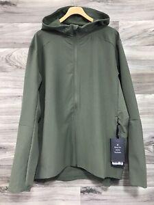 NWT Lululemon Men's Warp Lite Jacket - Size XL, Medium Olive MEOL Packable
