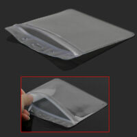 10x Convenient Clear Plastic Horizontal ID Card Badge Holder Pocket Pouch Value
