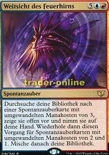 Weitsicht des Feuerhirns (Firemind's Foresight) Commander 2015 Magic