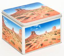 Álbum de fotografías metal lata caja blechbox Cookie Jar motivo estados unidos Monument Valley