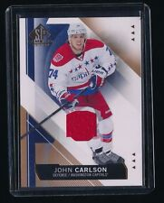 JOHN CARLSON 2015-16 SP GAME USED COPPER JERSEY WASHINGTON CAPITALS