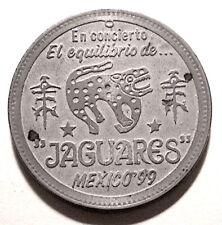 Mexico JAGUARES 50 Peso Grabada Coin Coyolxauhqui Hija de Dioses Aztecas $3s&hUS