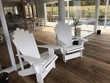 Provincial Vintage Style Cape Cod Adirondack Outdoor Chairs Melbourne