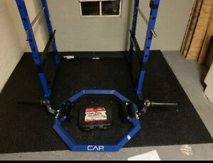 Cap Barbell Olympic Super Trap Hex Shrug Deadlift Bar Weight Lifting Workout Gym