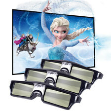3x Active Shutter 3D Glasses for DLP-Link 3D Projector Samsung/Optoma/Acer Movie