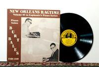 Burt Bales New Orleans Ragtime Vol 10, Euphonic's Piano Series, LP 1973, NM