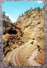 Clear Creek Canon, Colorado - Tunnel on Hwy U.S. 6 - Vintage Postcard