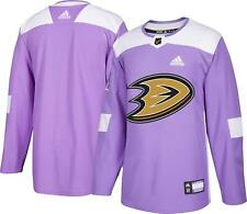 Anaheim Ducks Hockey Fights Cancer Mens Authentic Jersey L