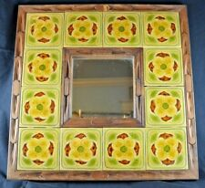 """Awesome Vintage Tiles and Mirror, Each Tiles is 4.5"""""""