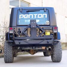 07-17 Jeep JK Wrangler Rock Crawler Rear Bumper Tire Carrier Black Textured  PT