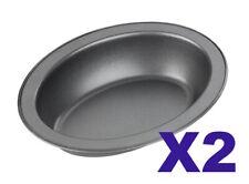 2 X Chef Aid Oval Pie Dish  [6141]