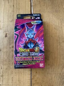 Dragon Ball Super Card Game Ultimate Deck - Expansion Set 16 - DBS-BE16 SEALED