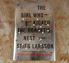 The Girl Who Kicked the Hornet's Nest No. 3 Stieg Larsson first