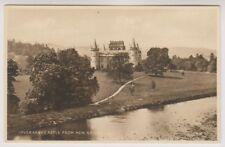 Argyllshire postcard - Inveraray Castle from New Bridge