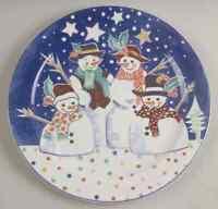 Epoch MR SNOWMAN Chop Plate (Round Platter) 6120442