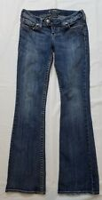 SILVER Jeans TUESDAY Low Rise Boot Distressed Womens 26 x 33