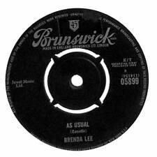 """Brenda Lee - As Usual - 7"""" Single"""