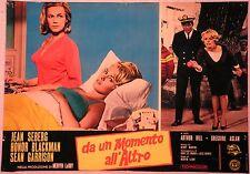 Fotobusta DA UN MOMENTO ALL'ALTRO 1965 JEAN SEBERG HONOR BLACKMAN SEAN GARRISON