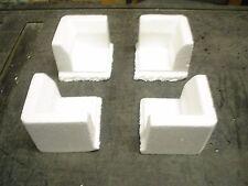 Qty 24 Polystyrene Styrofoam corner protectors           packing & shipping