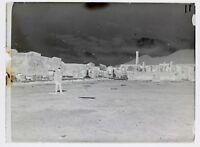 Pompei Ruines Italia Placca Da Lente Negativo 9x12cm