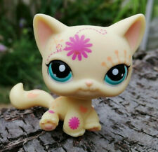 Littlest Pet Shop LPS chat européen tatoué rare #1231