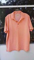 IZOD PerformX Golf Mens Polo Shirt Size M Orange