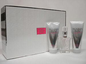 RARE NIB Victoria Secret ANGEL DREAM 3Pc Gift Set- Perfume, Lotion & Wash NICE