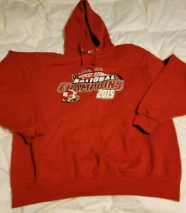 ALABAMA 2015 College Football Playoff NATIONAL CHAMPIONS Sweater HOODIE SIZE XL