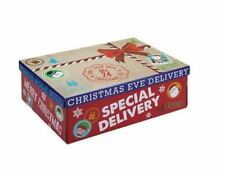 Christmas Eve Parcel Gift Box   Xmas Favour Present   Girls Boys Small Boxes