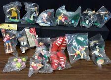Lot 17 Cake Toppers-Bowler,Ping Pong,basketball, skier etc.Wilton, Bakin Makin's