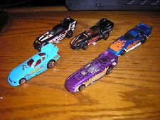 Rare Lot of 5 Different Hot Wheels Vintage Funny Car Dragsters Free Shipping