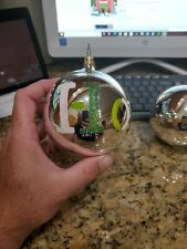 Lot of 3 Christopher radko ornaments - Hope, cookies, peace