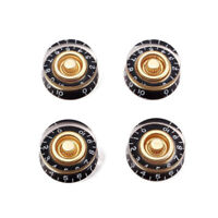 4pcs Gold Guitar Speed Control Tone Volume Kit Knob for Gibson Les Paul