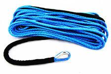 "Synthetic ATV/UTV Winch Rope w/ Thimble - 3/16"" x 50' - 5400 lb. - Made in USA"