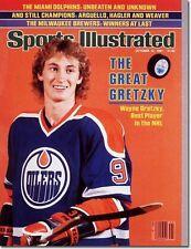 October 12, 1981 Wayne Gretzky Hockey Edmonton Oilers Sports Illustrated