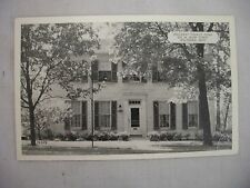 VINTAGE POSTCARD OF THE HOLLADAY TOURIST HOME IN HILLSBORO, OHIO UNUSED