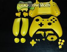 XBOX ONE CONTROLLER SHELL YELLOW MATTE KIT REPLACEMENT HOUSING XBOX 1 Free Ship
