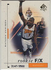 1998-99 SP AUTHENTIC ROOKIE CARD RC #94: ANTAWN JAMISON #/3500 WARRIORS/LAKERS