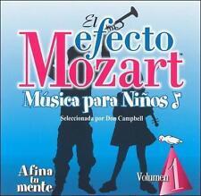 El Efecto Mozart M£sica para Ni€os, Vol. 1: Afina tu mente (CD, Apr-2005,...