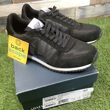 UK6 Armani AJ Nylon Runner Boxed Trainers - Suede/Mesh Lightweight Shoes - EU40
