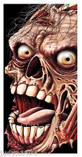 ZOMBIE DOOR COVER HALLOWEEN HORROR PARTY HANGING DECORATIONS POSTER  SKELETON
